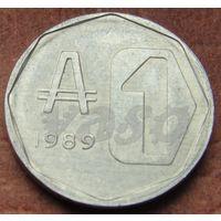 5416:  1 аустраль 1989 Аргентина