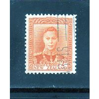 Новая Зеландия.Ми-242. Король Георг VI. 1938-1947.