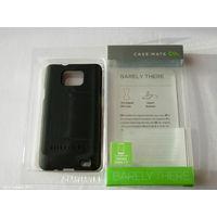 1719 Чехол для Samsung S2 пластик, чёрный