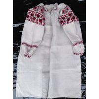 Сорочка домотканая льняная (рубашка, вышиванка), к. 1900-х гг.