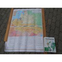 """Карта """"Рэч Паспалитая  у канцы 16 сярэдзине 18ст."""