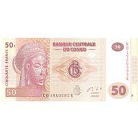YS: Конго, 50 франков 2013, P# 97А, UNC