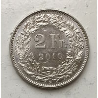 Швейцария, 2 франка 2010