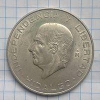 Мексика 10 песо 1956г серебро