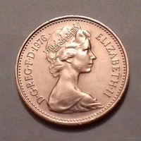 1 пенни, Великобритания 1976 г., AU
