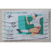 Израиль 1991 год. Футбол. Олимпийские игры. Барселона-92. Гаш спорт
