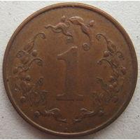 Зимбабве 1 цент 1989 г. (g)