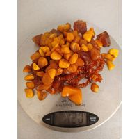 Янтарь 120 грамм