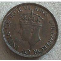 Цейлон 1 цент 1942
