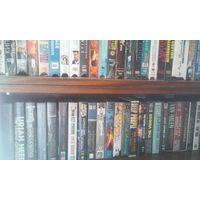 Видеокассеты (концерты, клипы) более 100 шт. Цена за 1 видеокассету.