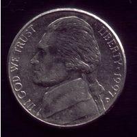 5 центов 1997 год D США