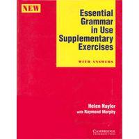 Grammar in Use by Cambridge, Supplementary Exercises (Essential, Intermediate and Advanced) - Грамматика на практике (3 уровня, учебники с аудиокурсами)