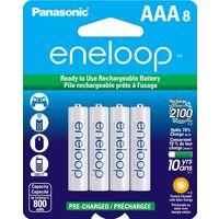 Аккумуляторы Panasonic BK-4MCCA8BA eneloop (AAA) 2100 Cycle NiMH