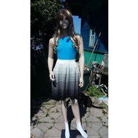 Трикотажная вязанная юбка