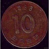 10 Вон 1988 год Ю.Корея