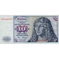 Германия 10 марок 1980 UNC