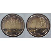2 евро - Словения 2011г. 100 лет со дня рождения Франца Розмана (возможен обмен)