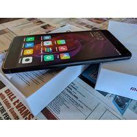 "Xiaomi Redmi Note 4X Android, экран 5.5"" IPS (1080x1920), мощный процессор Qualcomm Snapdragon 625 MSM8953, 2 000 МГц, ОЗУ 4 ГБ, флэш-память 64 ГБ, 8 ядер, карты памяти, камера 13 Мп, аккумулятор 4100"