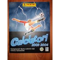 Журнал для наклеек Чемпионат Италии (Calciatori 2003-2004)