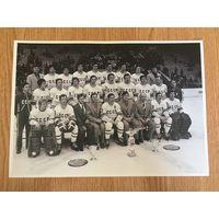 Фото Хоккей СССР 1979