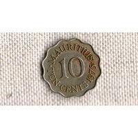 Маврикий 10 центов 1975 ///(ON)