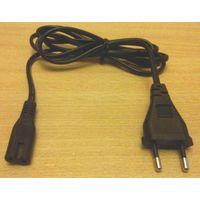 Сетевой кабель для аудио-видео техники. Длина: 1.8 метра.
