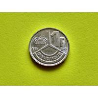 Бельгия. 1 франк 1989 (Belgique).