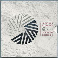 Латвия. Годовой набор из 9 монет (2015, UNC) [Председательство]