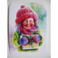 Карманный календарик, Счастливая, 2017.