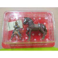 Солдатики НЕоловянные(военно-историческая миниатюра) монгольский конный воин в блистере