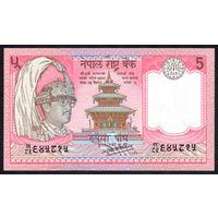 Непал / NEPAL_ND (1987-)_5 Rupee_P#30.a_UNC