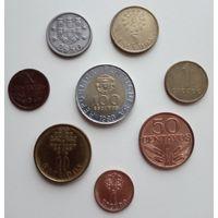 Португалия. 8 монет.