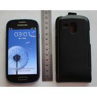 """Телефон """"Samsung GT-18190"""" с чехлом-рабочий."""