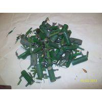 Резисторы зелёные пэв-10 и другие 500гр.