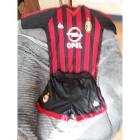 Футболка и шорты АС Milan (детские)