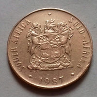 2 цента, ЮАР 1987 г.