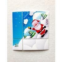 Армения 2011 г 769 Рождество и Новый год Снеговик Угол