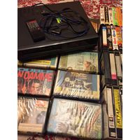 44 кассеты (фильмы и мультики) + Видеомагнитофон Panorama VCR-90 . Без МЦ в три дня.