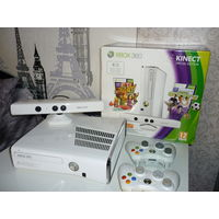 Xbox 360 slim 500gb Freeboot 2 джоя KINECT+63 игры ИДЕАЛ