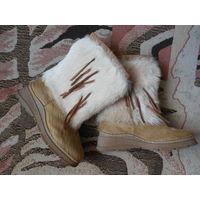 Натуральные меховые сапоги-унты Марко 40 р-р
