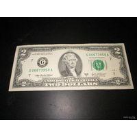 2 доллара США 2003 г., G 06673950 A, XF