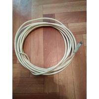 ТВ кабель (5м,штекер)