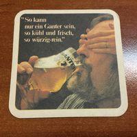 Подставка под пиво Ganter