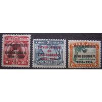 Британские колонии. Острова Кука. Ниуе. Полная серия 1935. Лот 8