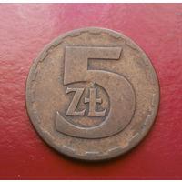 5 злотых 1977 Польша #03