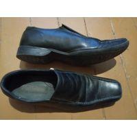 Кожаные туфли в хорошем состоянии р-р 44