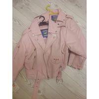 Куртка рокерская детская для девочки