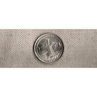 США 25 центов 2011/парки/Геттисберг Пенсильвания(Ab)