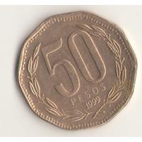 50 песо 1999 г.