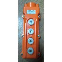 Пульт управления талем, тельфером 4 кнопки COB 62